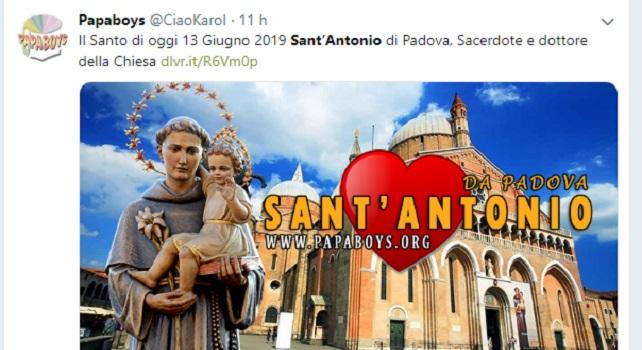 I sermoni di Sant'Antonio in un tweet