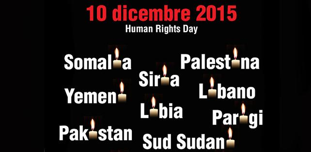 10 dicembre 2015, Human Rights Day