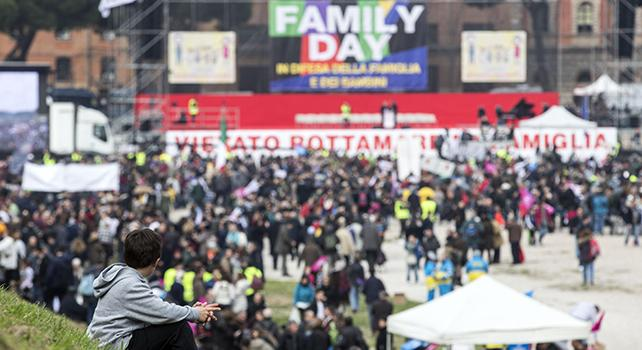 FAMILY DAY, 2 MILIONI I CATTOLICI IN PIAZZA A ROMA