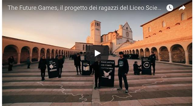 The future games of Umbria, il progetto dei ragazzi del Liceo Scientifico di Assisi - GUARDA IL VIDEO