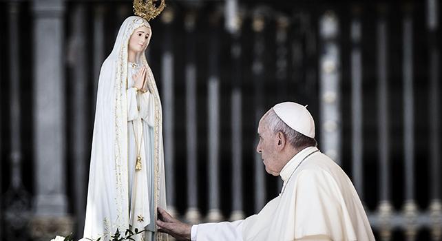 Papa Francesco, Fatima e la fine del mondo. Credete ci sia qualcosa che noi ignoriamo?