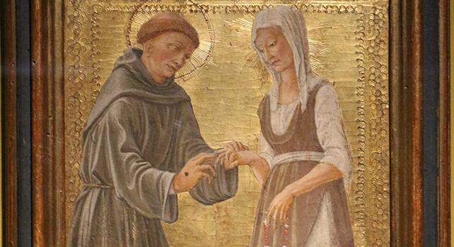 La povertà di Francesco d'Assisi