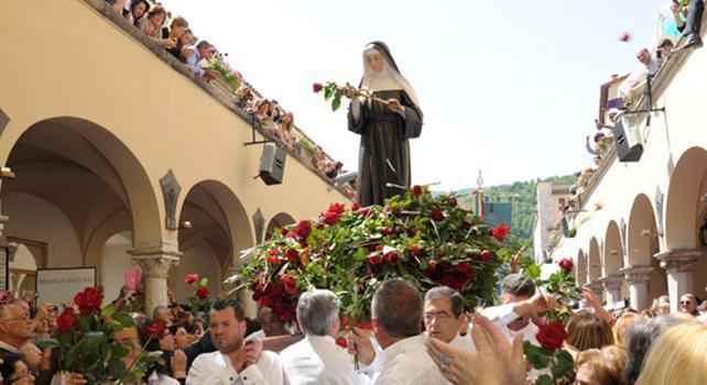 Oggi si celebra santa rita da cascia san francesco for Basilica di santa rita da cascia