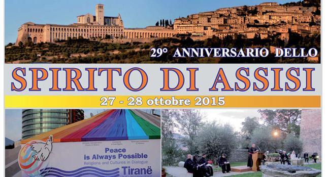Da 29 anni camminiamo insieme nello Spirito di Assisi - Il programma