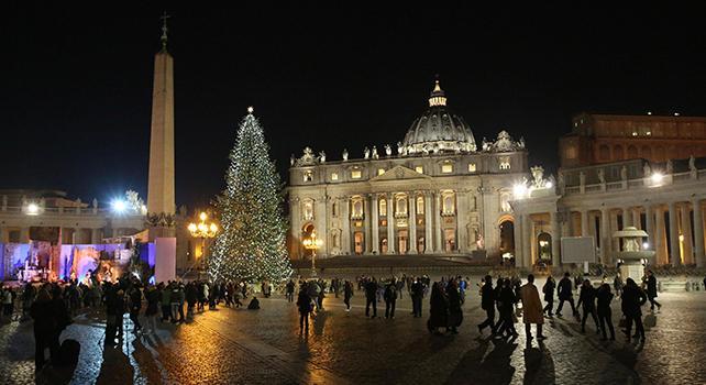 Risultati immagini per natale vaticano