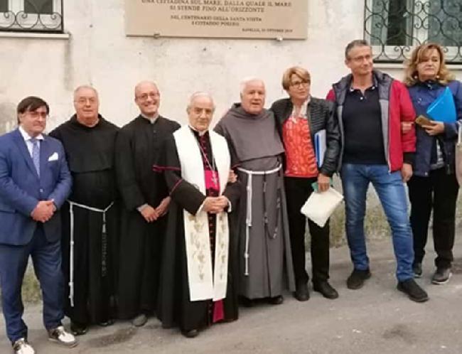 Ravello ricorda il centenario del passaggio di San Massimiliano Kolbe - San Francesco Patrono d'Italia