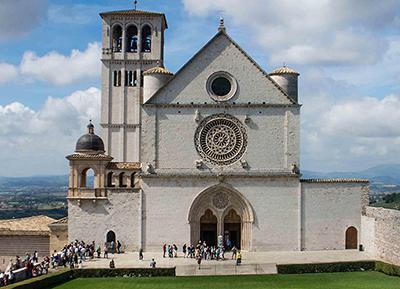 Frati Assisi Basilica